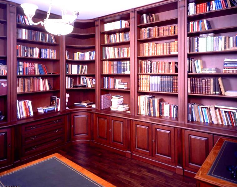 Библиотека из массива на заказ в кирове.